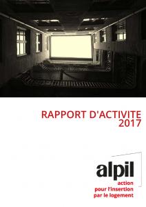 Rapport d'activité 2017 alpil